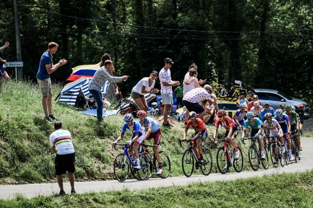 clasificación general colombianos Tour de Francia etapa 17