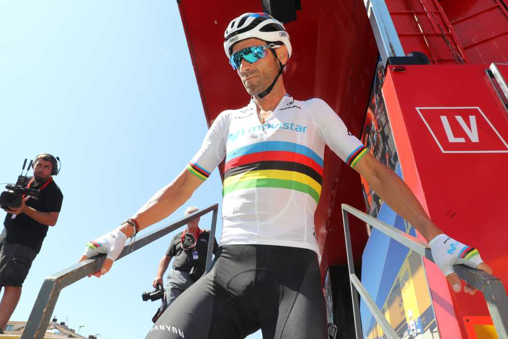 Alejandro Valverde Vuelta España 2019