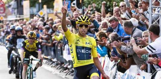Egan Bernal gana en Holanda