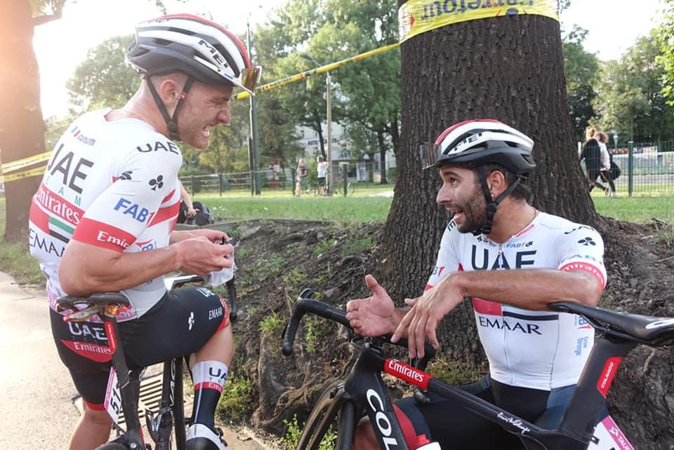 Tour de Polonia etapa 2 EN VIVO Hoy UAE sprinter