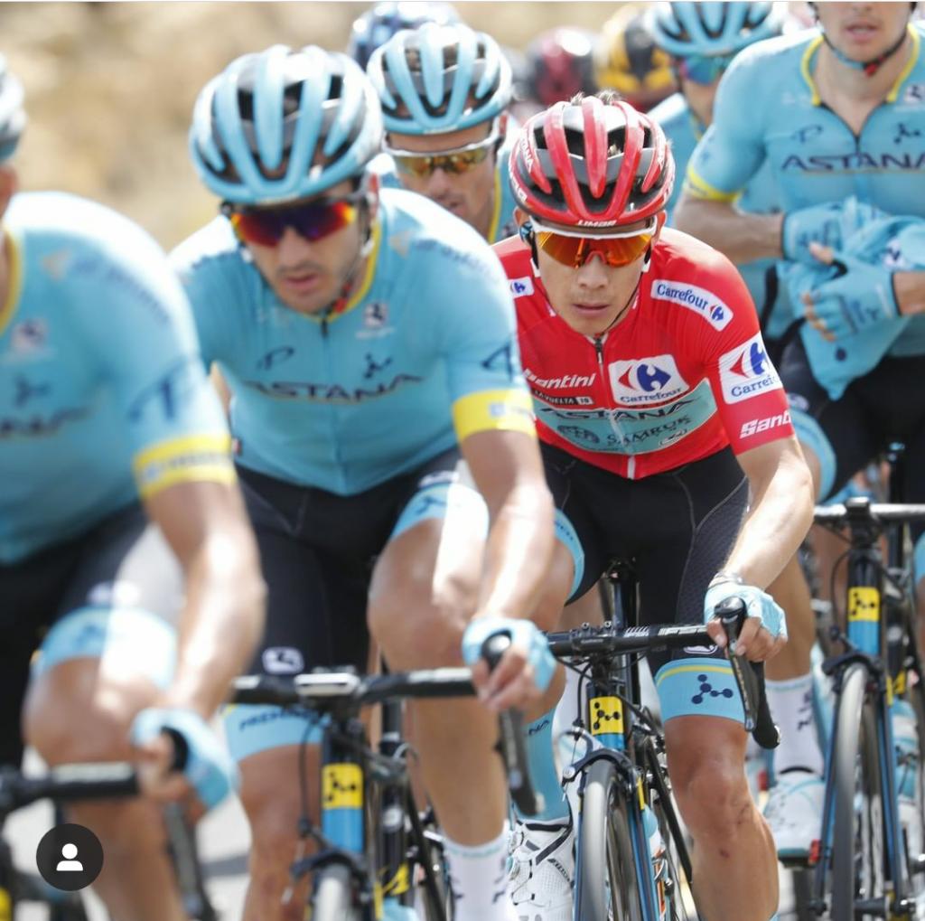 Miguel Ángel López amenza Vuelta España 2019