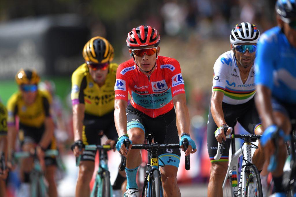 Miguel Ángel López amenaza Vuelta a España 2019