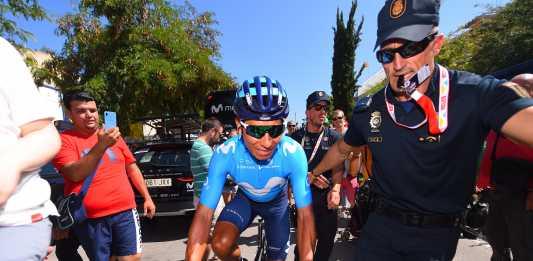 Nairo Quintana Valverde Roglic Vuelta a España 2019
