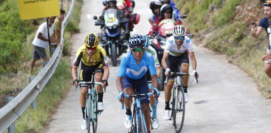 Ataques Nairo Quintana etapa 7 Vuelta a España 2019