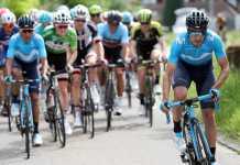 Mikel Landa y Nairo Quintana salieron del Movistar Team