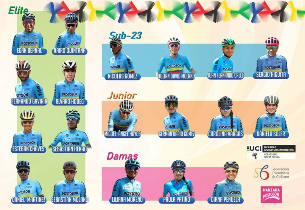 Colombia Mundial Ciclismo