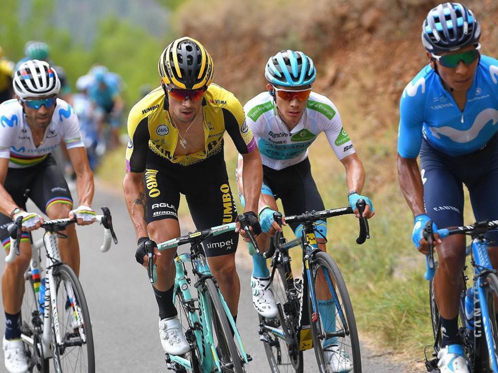 Primoz Roglic Vuelta España 2019