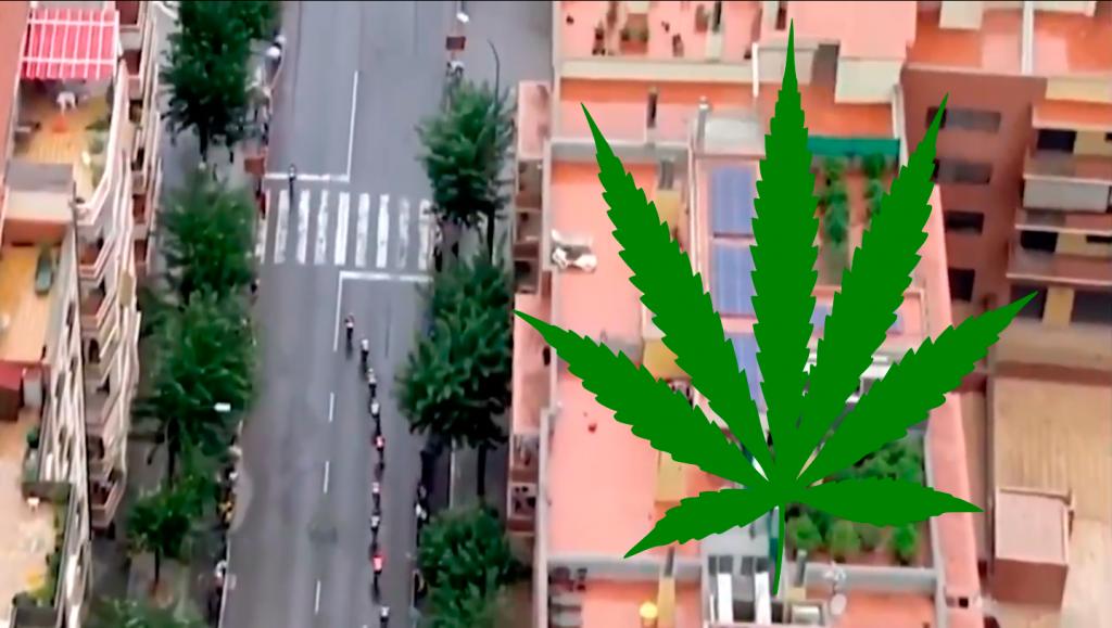 marihuana Vuelta España 2019