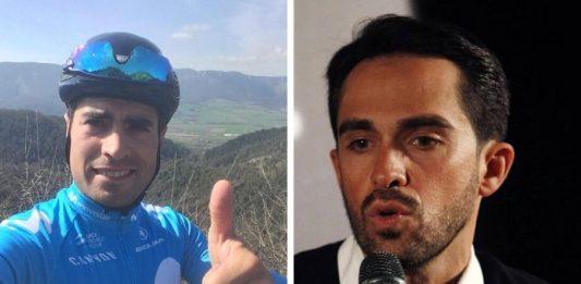 Mikel Landa Alberto Contador Ciclismocolombiano.com