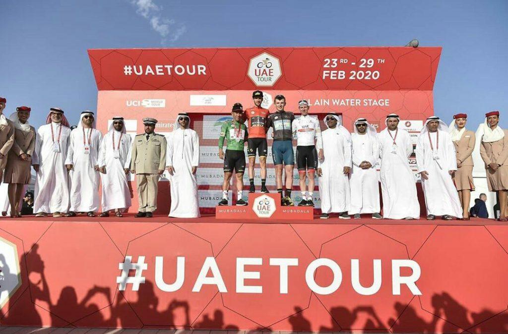 Conozca UAE Tour Coronavirus