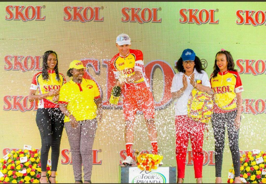Doble podio Tour Rwanda