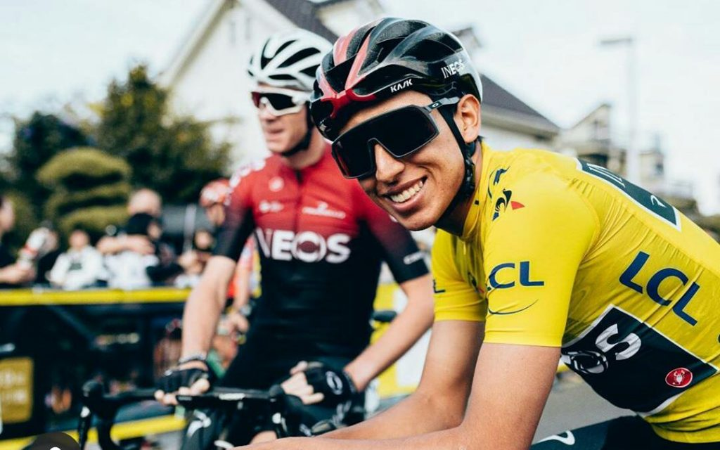 Egan Bernal ciclistas europeos