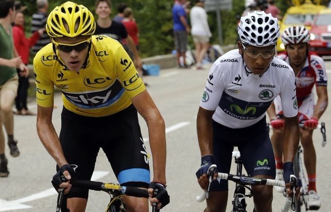 Chris Froome vs Nairo Quintana