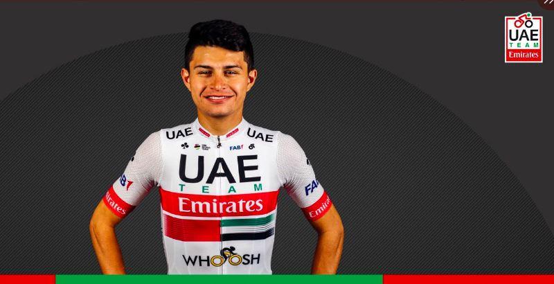 Camilo Ardila habla sobre sus metas Vuelta Burgos