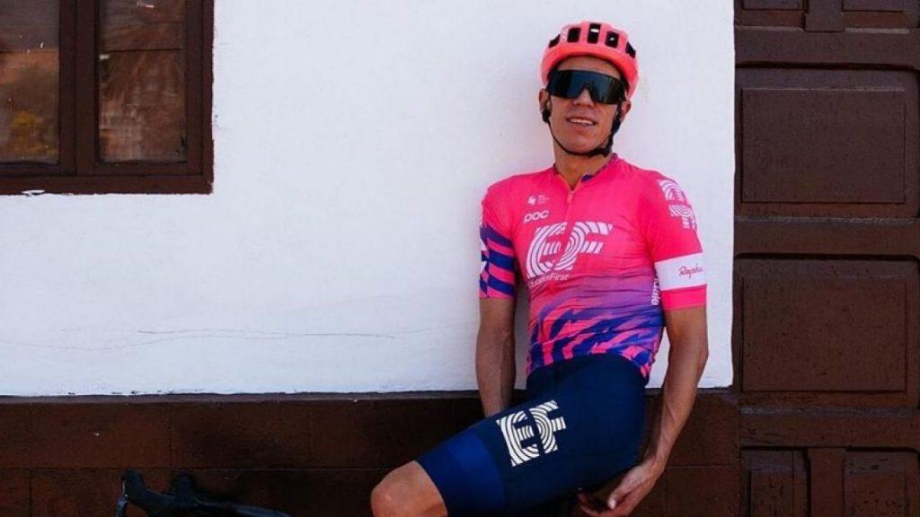 Rigoberto Urán ciclistas colombianos cambiar equipo 2021 ph. IG Education First - www.ciclismocolombiano.com