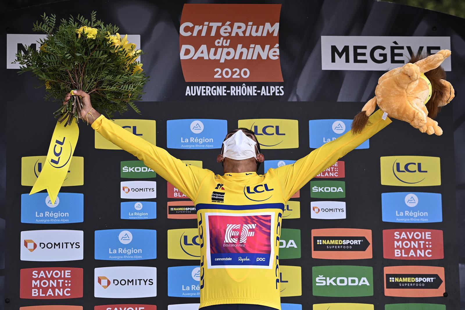 Daniel Martínez podio Critérium 2020