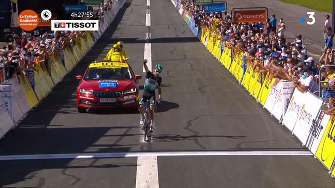Lennard Kamna etapa 4 Critérium Dauphiné 2020