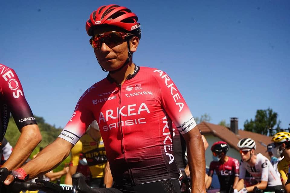 Nairo habla del nerviosismo de la etapa 5 en el Tour de Francia 2020