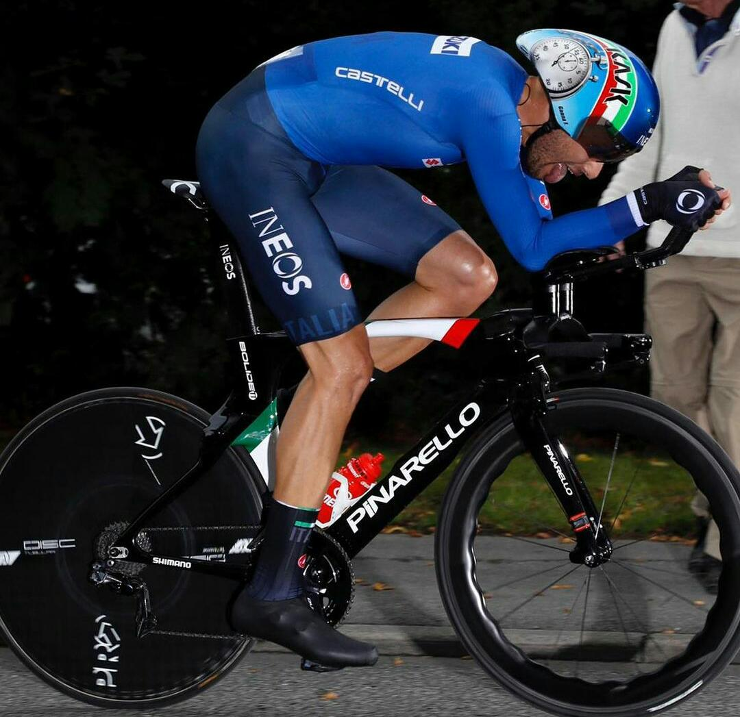 Filippo Ganna Contrareloj Italia Ph: Bettini Photo