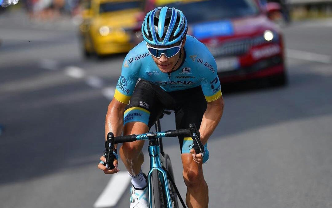 Miguel Ángel López sustoTour de Francia 2020 Ph: Getty Sports