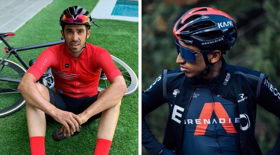 Duda Alberto Contador Egan Bernal Tour de Francia 2020-Ph_ Instagram Alberto Contador y Egan Bernal-