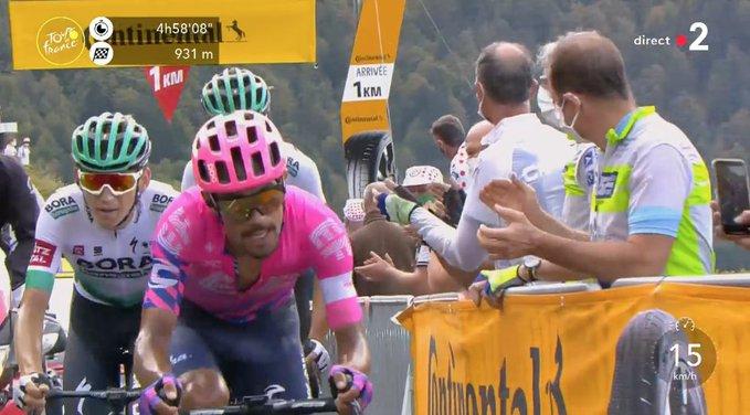 Colombia Alemania etapa 13 Tour de Francia 2020 - www.ciclismocolombiano.com