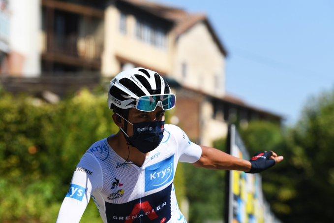 Egan etapa 11 Tour de Francia 2020 - ph. Team Ineos tw - www.ciclismocolombiano.com