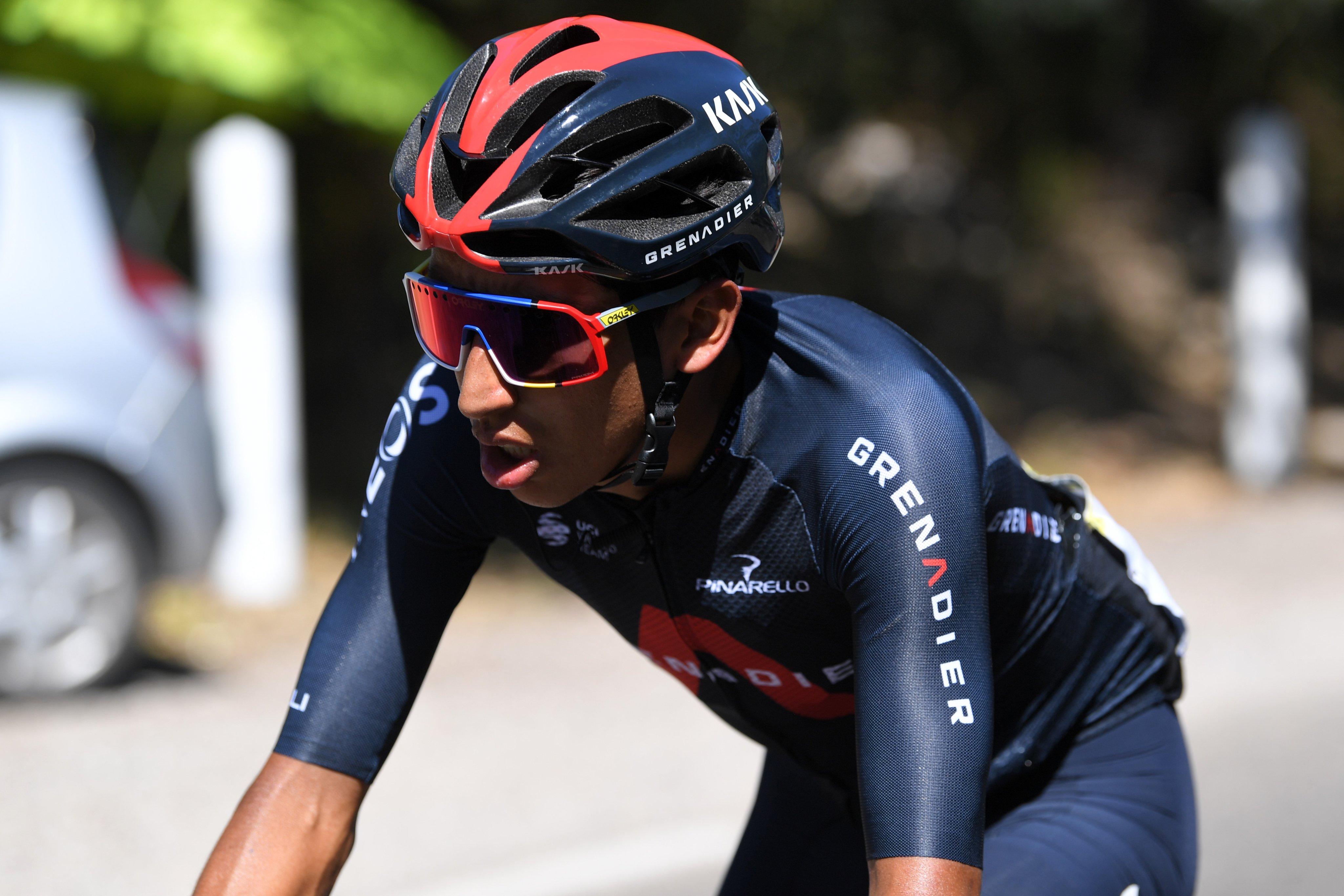 Egan Bernal tras etapa 15 del Tour de Francia 2020 Ph Twitter Ineos Grenadiers