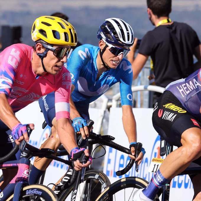 Enric Mas explota ataques Tour de Francia 2020 - ph. Movistar Team - www.ciclsimocolombiano.com