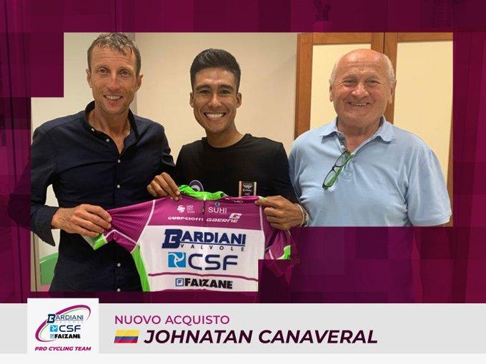Jonathan Cañaveral Bardiani CSF Faizanè - ph. Bardiani CSF Faizanè - www.ciclismocolombiano.com