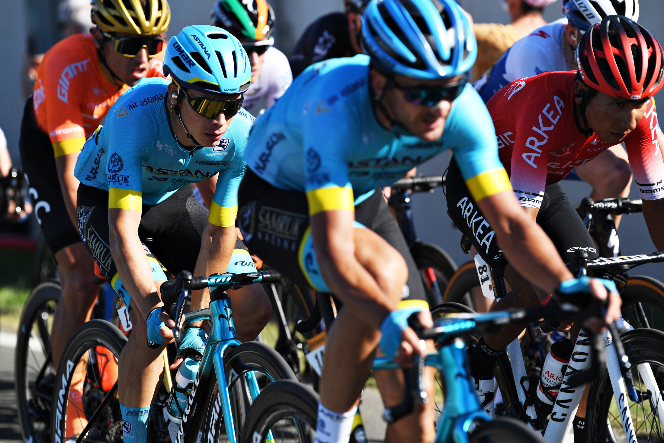 optimismo del Astana con superman López Tour de Francia 2020