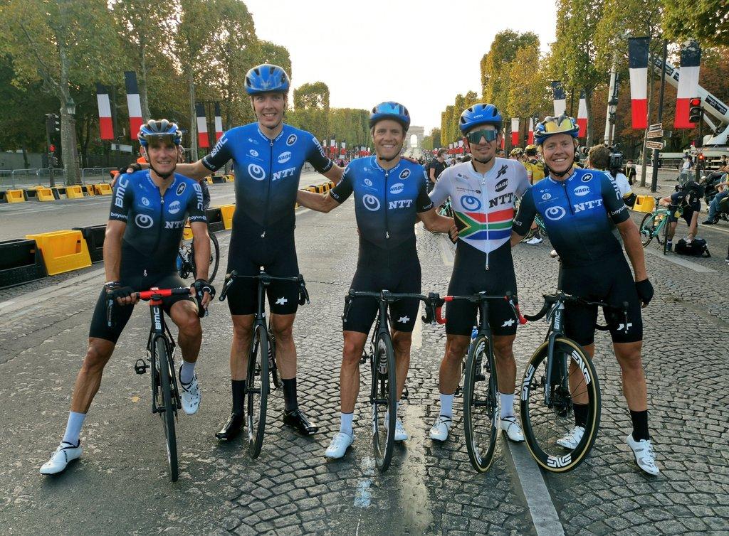 NTT Pro Cycling 2021 desaparece - ph. NTT procyling web page - www.ciclismocolombiano.com