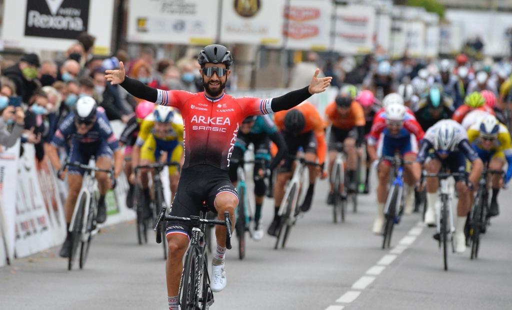 Nacer Bouhanni París Chauny - ph. Arkea Samsic www.ciclismocolombiano.com