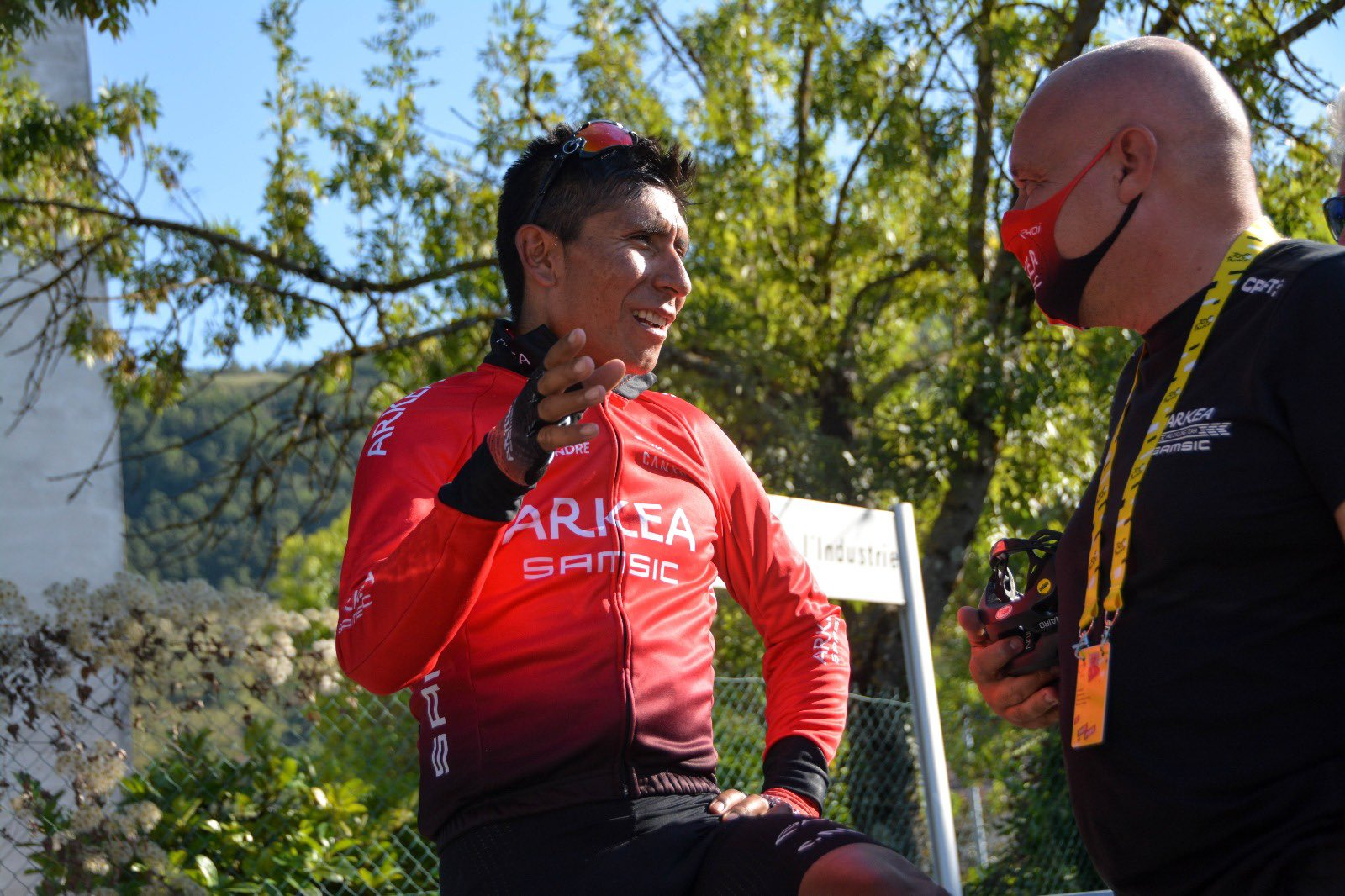 Nairo alentadoras palabras Tour de Francia 2020