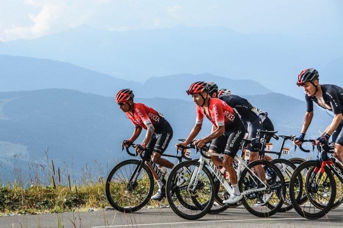 Nairo Quintana etapa 17 Tour de Francia 2020 - ph. Arkea Samsic www.ciclismocolombiano.com