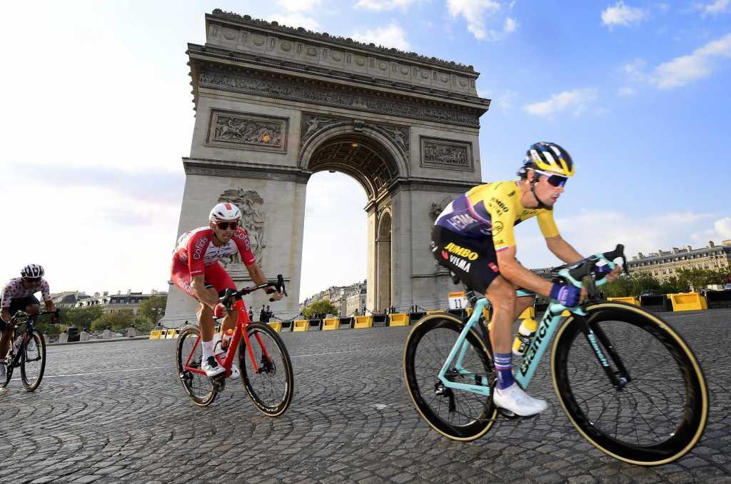 Primoz Roglic Etapa 21 Tour de Francia 2020 - ph- LeTour tw- www.ciclismocolombiano.com