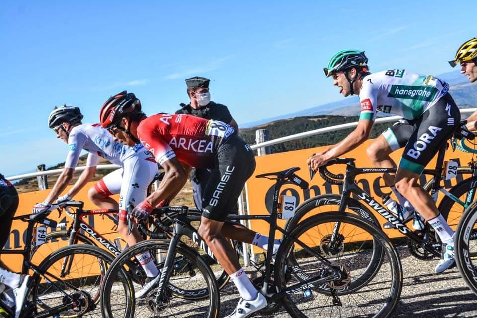 Alberto Contador avisa Nairo Quintana ph. Arkea Samsic - www.ciclismocolombiano.com