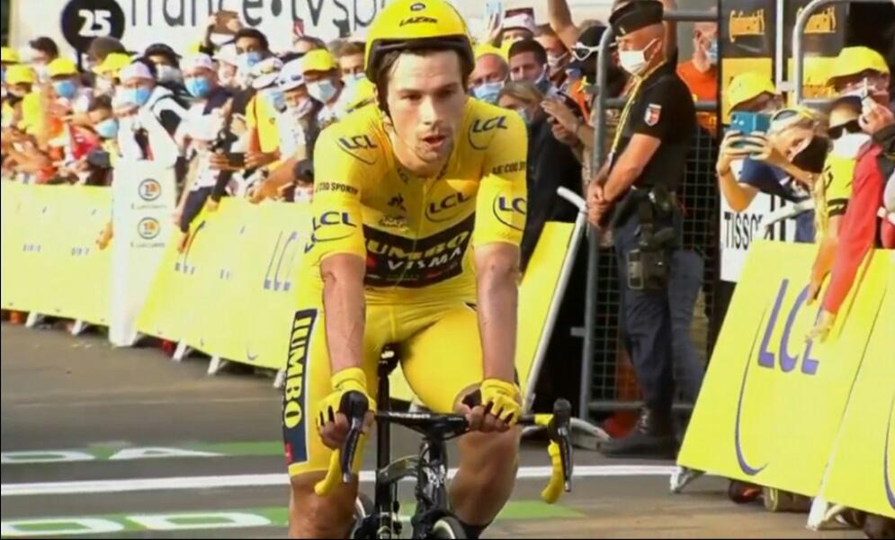 Roglic contrarreloj Tour de Francia 2020