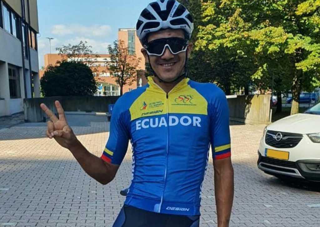 Mundial Imola corredores Ecuador Ph: Richard Carapaz IG