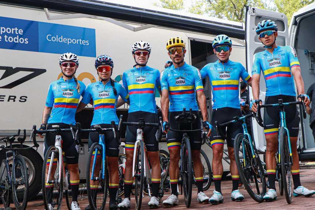 selección Colombia de ciclismo 2 Ph facebook fedeciclismo