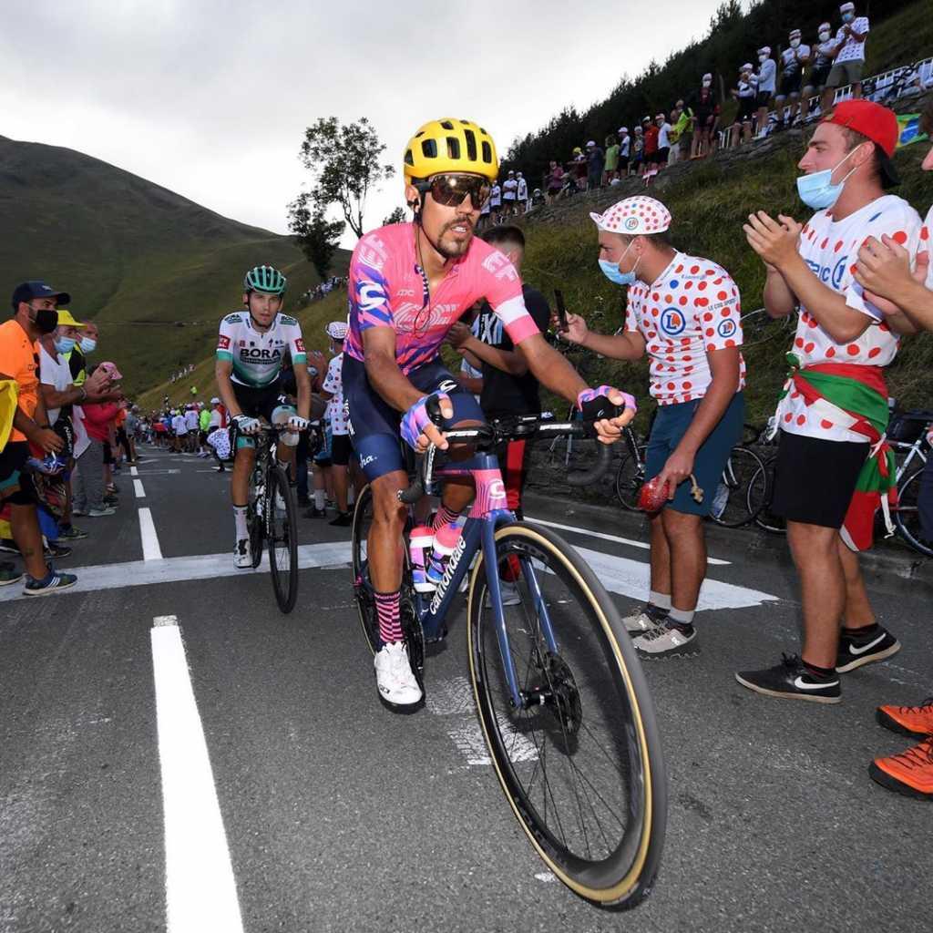 Daniel Martínez Vuelta a España 2020 retiro