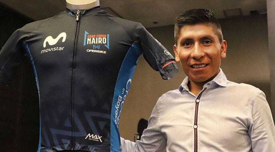 Nairo Quintana carga Movistar
