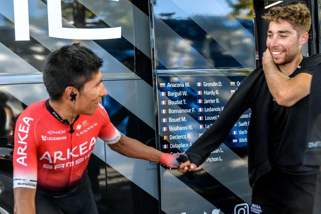 Nairo Quintana sorprende con su puesto clasificación UCI