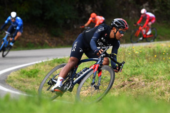 Narváez gana 12 Giro 2020