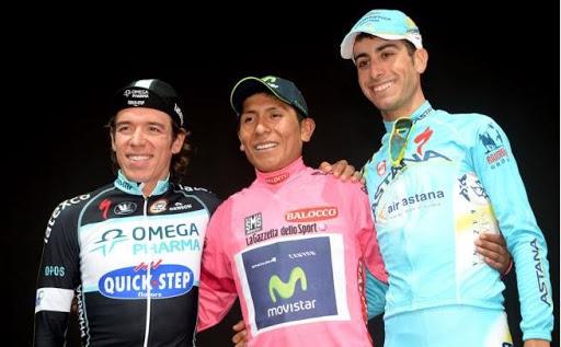 Racha ciclismo colombiano Giro de Italia 2020