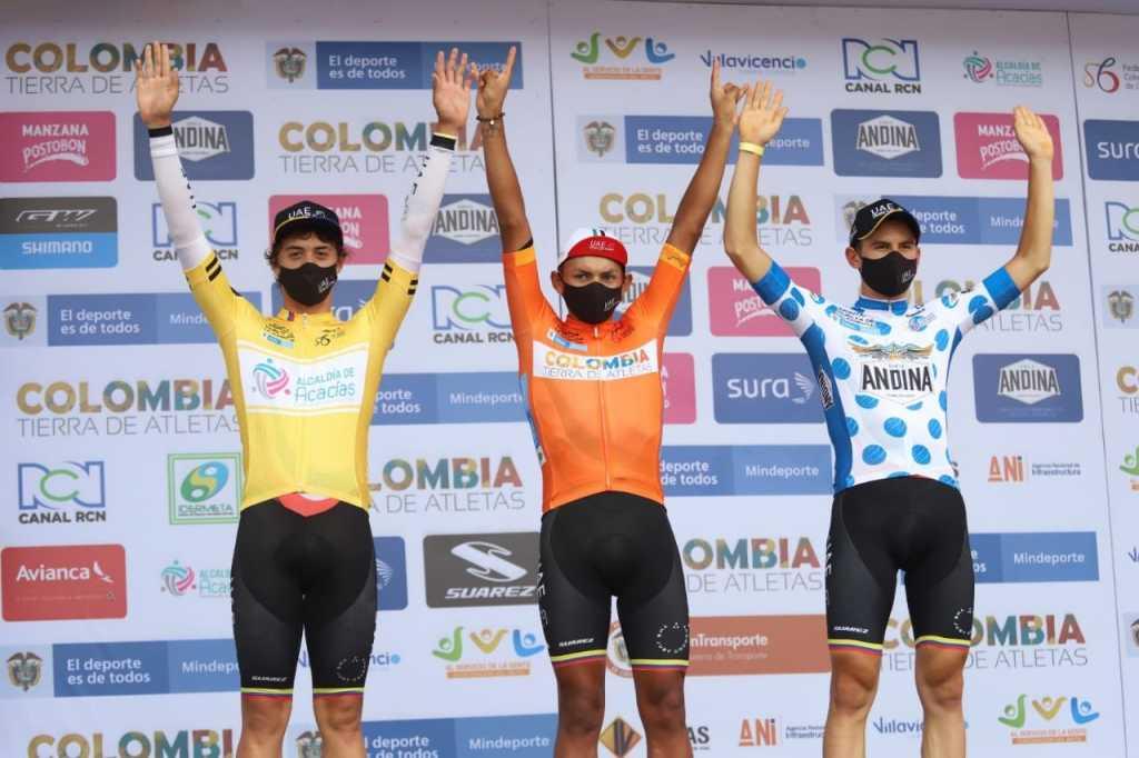 Vuelta de la Juventud Rafael Pineda ganador