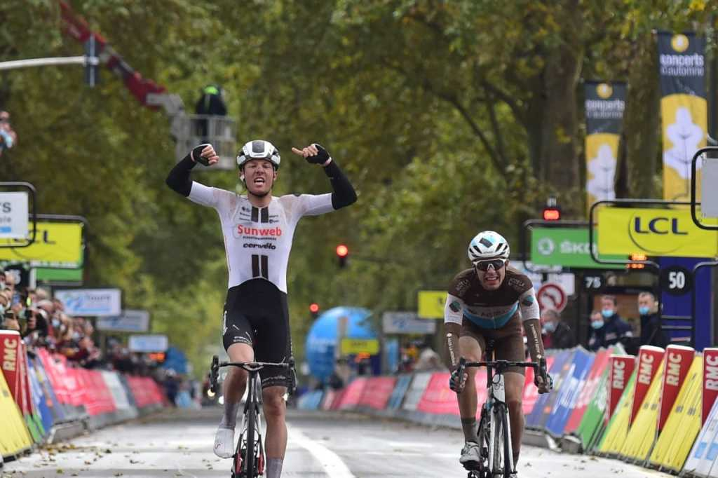 Casper Pedersen se lleva la victoria en París Tours 2020