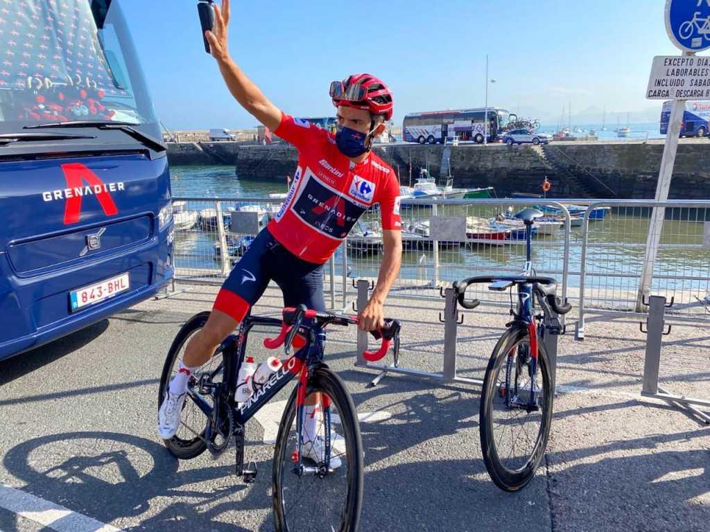 razón por la que Roglic quedó líder sobre Carapaz en la Vuelta 2020