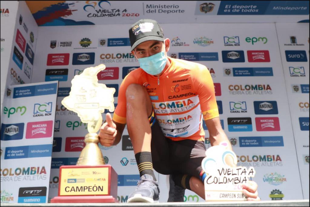 Camargo ciclista colombiano más admira