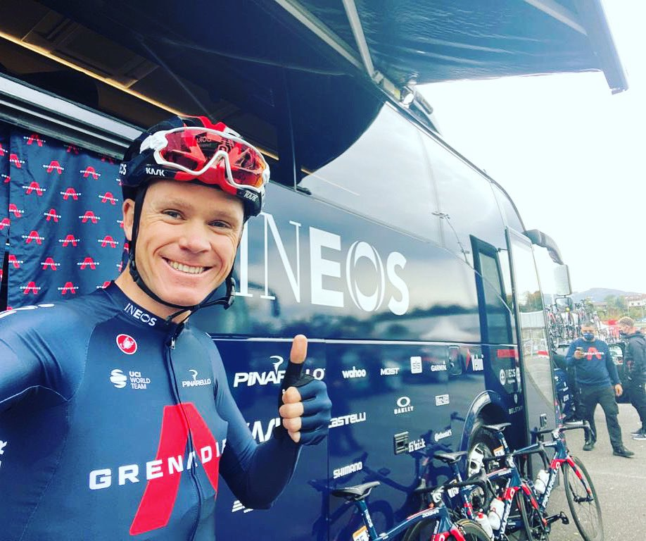 Froome escuderos Israel Start up